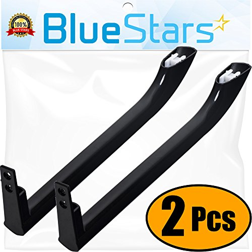 Ultra Durable 5304506471 Refrigerator Door Handle Replacement Part by Blue Stars - Exact Fit for Frigidaire Refrigerators - Replaces 5304504509 5304504510 5304510039 - Pack of 2