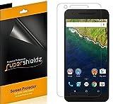(6 Pack) Supershieldz for Huawei (Google) Nexus 6P Screen Protector, High Definition Clear Shield (PET)