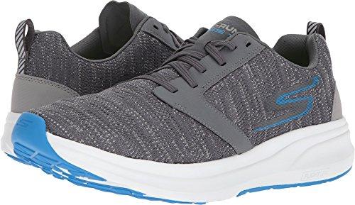 Skechers Go Run Ride 7, Zapatillas Deportivas para Interior para Hombre, Gris (Charcoal/Blue), 45 EU