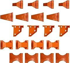 Angoily 20 Stuks Houten Vloeren Installatie Kit Plastic Plank Vloeren Montage Tool Met Spacers Tikken Blok Pull Bar Voor G...