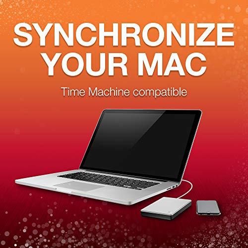 Seagate Backup Plus Portable Drive for Mac Plateado Plata 4 TB