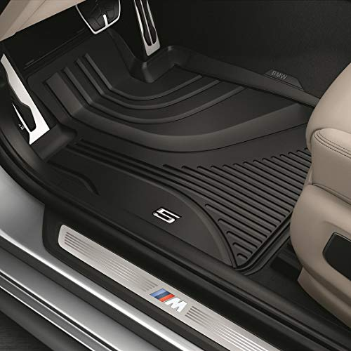 BMW 51472414218 All-Weather Floor Mats for G30 5 Series and F90 M5 (Set of 2 Front Mats)