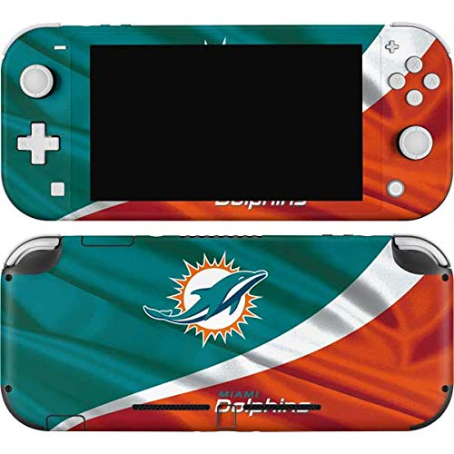 Skinit Decal Gaming Skin Compatible with Nintendo Switch Lite - Officially Licensed NFL Miami Flag Design Design