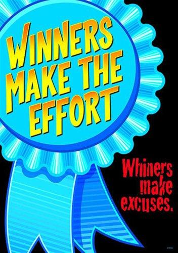 Tendance entreprises T-A67329 gagnants rendre le poster de l'effort