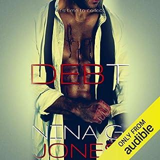 Debt audiobook cover art