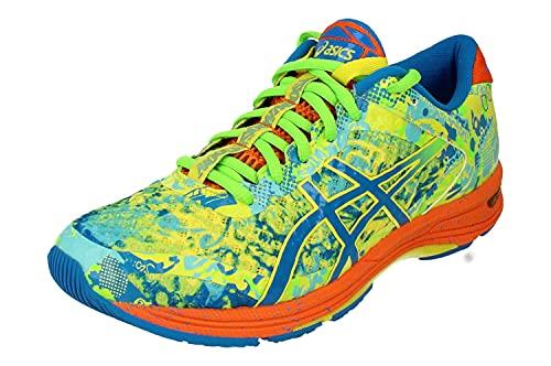 Asics Gel-Noosa Tri 11 Hombre Running Trainers 1011B301 Sneakers Zapatos (UK 8.5 US 9.5 EU 43.5, Sour Yuzu Blue 750)