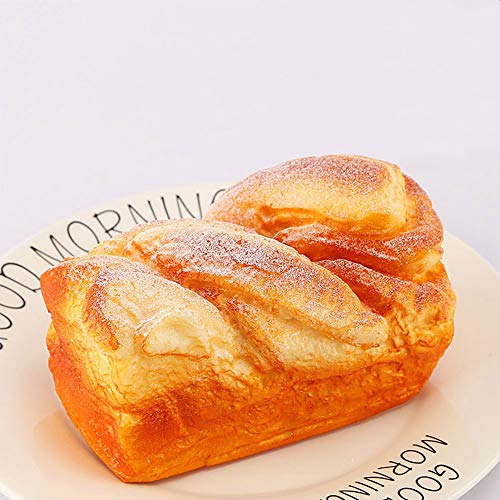 Nice purchase Artificial Bread Fake Simulation Realistic Food Cake French Bread Loaf Baguette Dessert for Decoration Display Props Real Model (D)