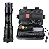 Best Bicycle Lights 5000 Lumens Rechargeables - LED Tactical Flashlight High Lumens Phixton Rechargeable 5000mAh Review