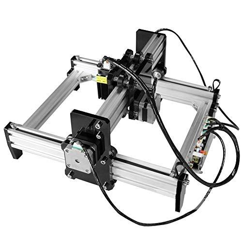 0.5W CNC Graveur Machine, DIY Mini Bureau Gravure Machine De Découpe Imprimante Kit, Zone De Travail 190 * 130mm(EU plug)