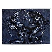 パズル 1000ピース 人気 アニメパズル 大型木製 パズルおもちゃギフト創造的な減圧diyチャレンジアート画像aliens Vs Predator (1)