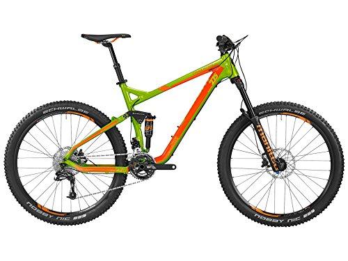 """Bergamont Trailster EX 7.0 MTB - Bicicletta da 27.5"""", colori verde e arancione, modello 2016, misura: XL (184 - 199cm)."""