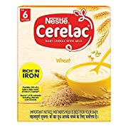 An Iron fortified baby cereal for babies from 6 months onwards A source of 18 important nutrients including vitamins and minerals Country of Origin: India Free from added colours, flavours and preservatives Important Notice: Mother's milk is best for...