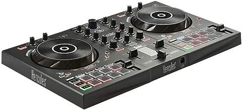Hercules–djcontrol inpulse 300–Controller DJ USB–2tracce con 16pad e scheda audio–software e tutorial incluso
