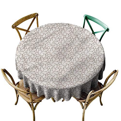 familytaste hedendaags, tafelkleden moderne halve cirkels outdoor picknicks ronde tafelkleed