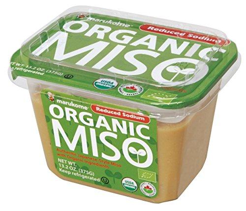 Marukome Organic Broth, Reduced Sodium Miso, 13.2...