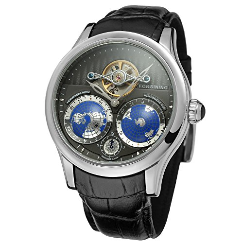 FORSINING Men's Brand Automatic Stainless Steel Case Analog Bracelet Watch FSG9413M3S1