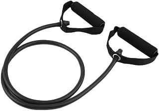 Resistance Band Set Yoga Pilates Abs Exercise Fitness Tube Workout Bands Black