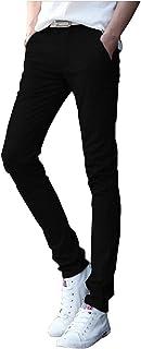[ソーロ トゥ] ブラック デニム スキニー パンツ ストレッチ ジーンズ 美脚 細身 伸縮素材 メンズ XS ? 2XL