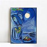 WJY Dream by Marc Chagall Poster und Kunstdrucke Kunst