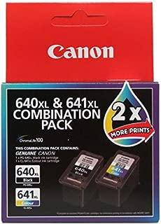 Canon PG640XLCL641XL XL Combo Pack (1 x PG640XL Black & 1 x CL641XL Colour)