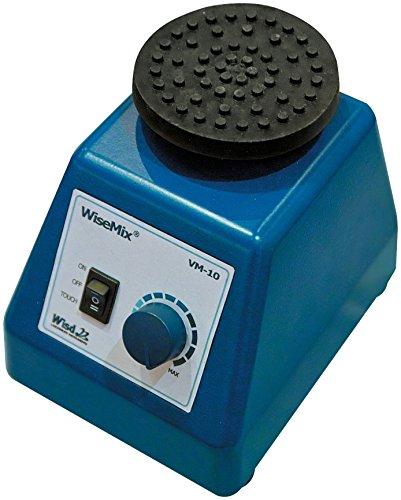 Witeg Reagenzglasschüttler / Vortex-Mixer VM-10 3.330U/min, inkl. Plattformaufsatz und Standardaufsatz, ideal zum Mischen von Lösungen