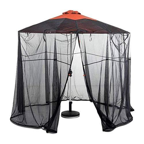 ALBEFY Outdoor Garden Umbrella Table Screen, Parasol Mosquito Net Cover, Parasol Converter Cover, Turn Your Parasol into a Gazebo