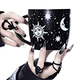 Large Coffee Mug (Celestial) by Rogue + Wolf Witch Goth Accessories for Women Hocus Pocus Gothic...