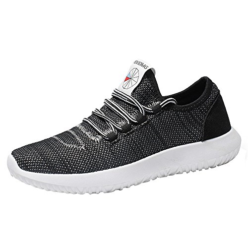 Patifia Schuhe Herren, Männer Mesh Runde atmungsaktive Flache Turnschuhe Laufschuhe Freizeitschuhe Angebote Slip On Sportschuhe Schnürschuhe Sneakers