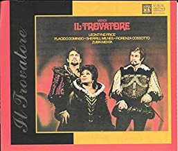 Giuseppe Verdi: Il Trovatore [Musical Heritage Society Release With Full Italian Libretto and English Translation]
