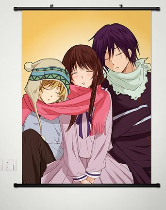 Home Decor Japanese Anime Noragami Yato Hiyori Iki Yukine Cosplay 23 6x35 4 Inches 044 Buy Online In Aruba Noragami Yato Hiyori Iki Yukine Products In Aruba See Prices Reviews And