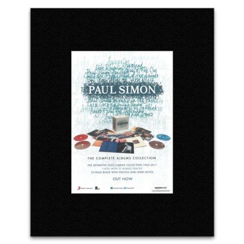 Preisvergleich Produktbild Uncut Paul Simon Mini-Poster The Complete Album Collection,  matt,  28, 5 x 21 cm
