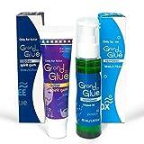 Grand Glue Spirit Gum Adhesive and Remover | Hair Glue | Skin Glue | Adhesive Remover Wipe...
