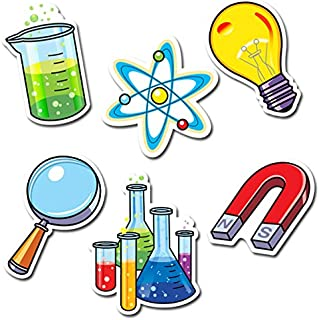 Creative Teaching Press 6-Inch Designer Cut-Outs, Science Lab (3875)