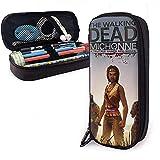 Men The Walking Dead Thriller Warfare Full Printing Multifuncional Bolsa de lápices personalizada para viajar