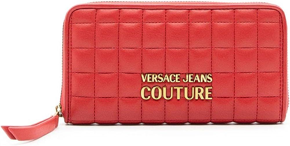 Versace jeans couture portafoglio da donna in ecopelle trapuntata E3VZAPQ1T
