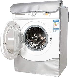 Weichuan - Funda para lavadora, impermeable, funda de protección para lavadora, antipolvo, funda para lavadora y secadora ...