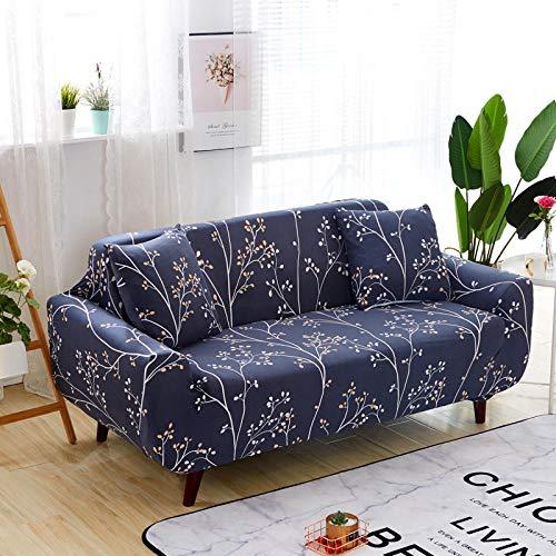 Fundas de Sofas elasticas y adapatable 1 Plaza Fundas de sofá Fundas de sofá elásticas para Sala de Estar, Funda elástica para Silla de sofá Toalla de sofá de 90-140 cm (1 Pieza)