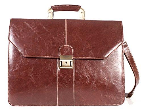 Bolso de hombro para hombre, estilo satchel diario, maletín