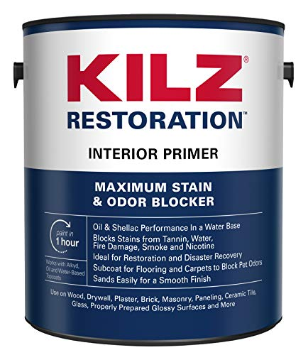 KILZ Restoration Maximum Stain and Odor Blocking Interior Latex Primer/Sealer
