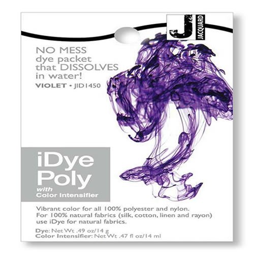 iDye Poly Violet - For Polyester And Nylon Fabrics