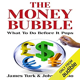 The Money Bubble audiobook cover art