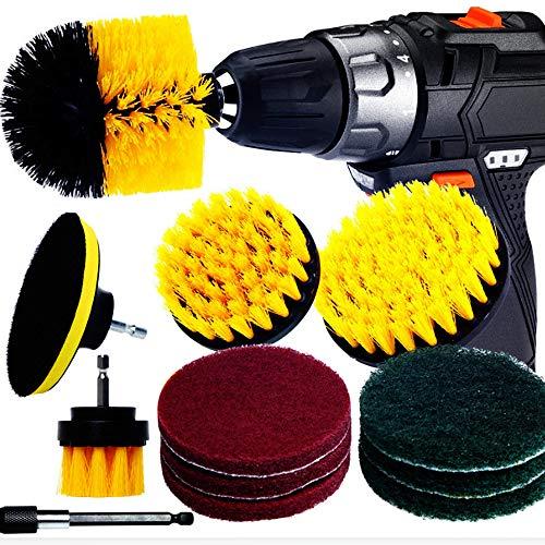 12 Kits de accesorios cepillo eléctrico, fuerte contra el polvo y las...