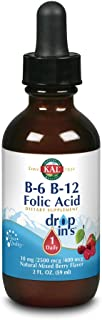 Kal B-6 B-12 Folic Acid Mixed Berry Dropins, 2 Fluid Ounce