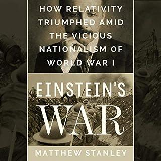 Einstein's War audiobook cover art
