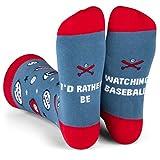 I'd Rather Be - Funny Novelty Socks Stocking Stuffer...