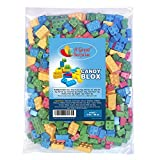 Candy Blocks - 3 Pounds - Candy Blox - Candy Building Blocks, BULK Candy