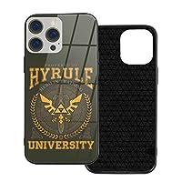 Iphone 12 シリーズ 携帯カバー スマホケース Hyrule University 強化ガラスケース ハードケース 電話の殻 Ip12mini-5.4