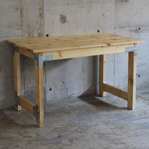 ★テーブルのDIY金具キット《シンプソン金具と専用ビスのセット》※木材別売