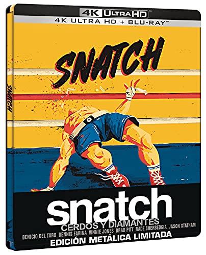 Snatch: cerdos y diamantes (4k UHD + Blu-ray) (Ed. Especial Metálica) [Blu-ray]