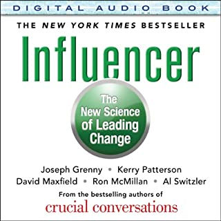 Influencer audiobook cover art